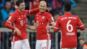Arjen Robben har forlænget sin kontrakt i Bayern München. Foto: AP