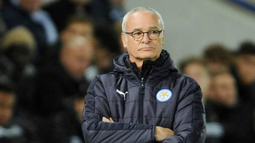 Claudio Ranieri er færdig i Leicester. Foto: AP