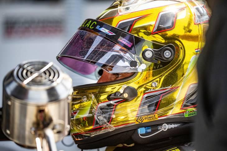 Denne gang kvalificerede Kevin Magnussen bilen, men Renger van der Zande (billedet) kørte den over stregen. For en uge siden var det omvendt. Foto: Chip Ganassi Racing