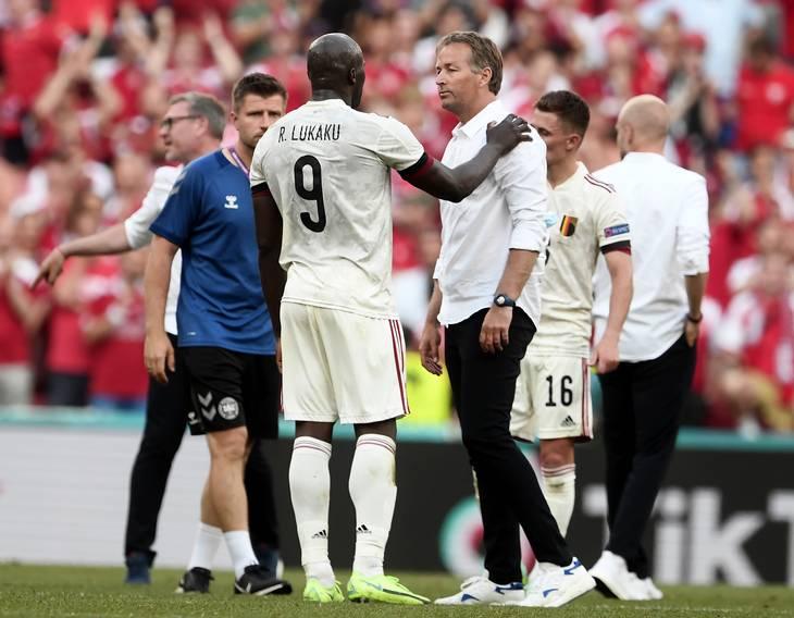 Belgien tog en flot comeback-sejr, men Eriksens ven Romelu Lukaku vandt alligevel mange danske hjerter ved sin optræden i dagene omkring hændelsen. Foto: Lars Poulsen