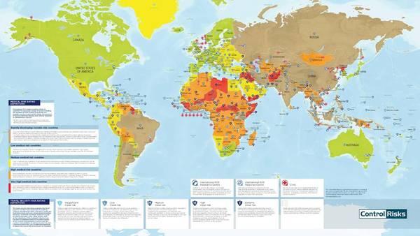 Risiko Kort Se Hvor Farlig Din Rejse Er Ekstra Bladet