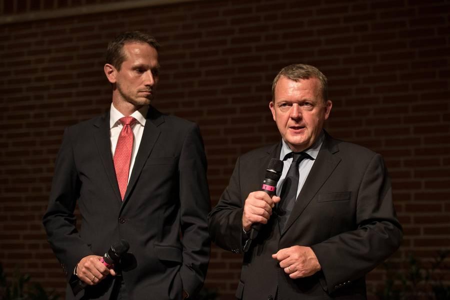 Venstres udynamiske duo under 'formandsopgøret' i Odense for fire år siden.
