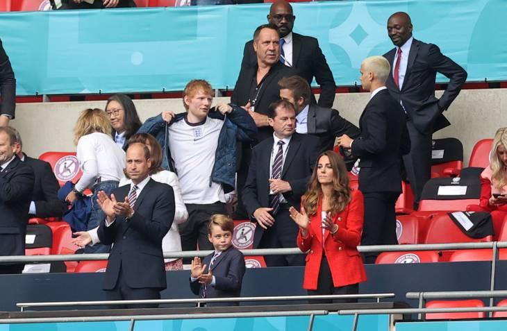 Prinsen var selv til stede på Wembley søndag aften. Foto: Carl Recine/Ritzau Scanpix
