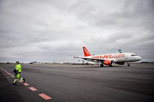 Tre mænd fik et fly til at lande før tid, fordi opførte sig så aggressivt over for personalet. Foto: Joachim Adrian