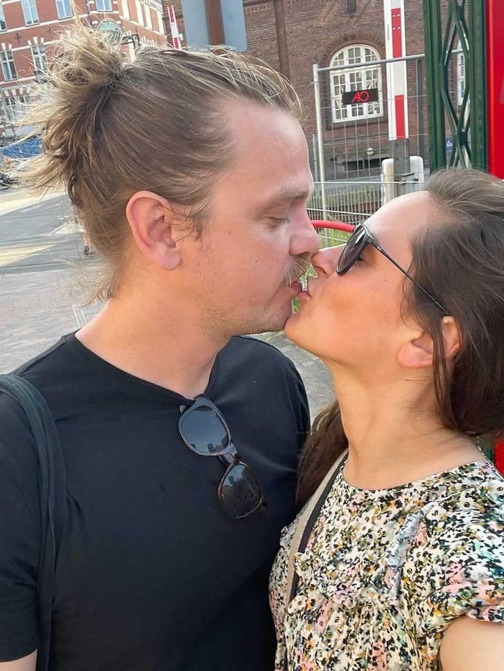 Mette og Peter er allerede flyttet sammen. Foto: Privat