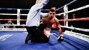 Abdul Khattab vil fortsætte karrieren trods nederlaget. Foto: Ernst van Norde