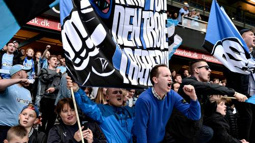 Randers' fans kan få noget at glæde sig over, hvis OB bliver overvundet mandag aften. (Arkivfoto: Anita Graversen)