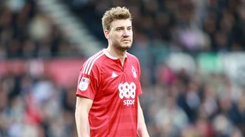 Nicklas Bendtner har ikke været i aktion i en måned for Nottingham Forest. Foto: All Over Press