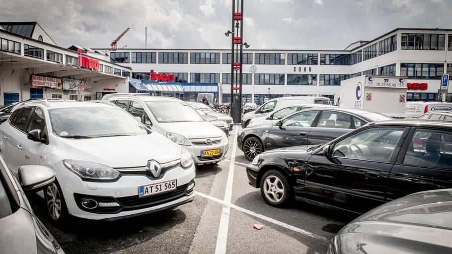 parkering ved parken københavn