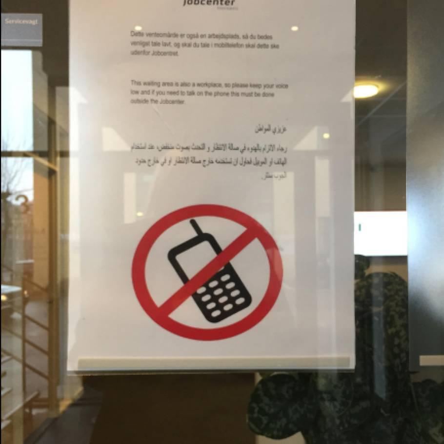 Vil Forbyde Arabisk Skilt Man Skal Ikke Gøre Arabere Dummere End