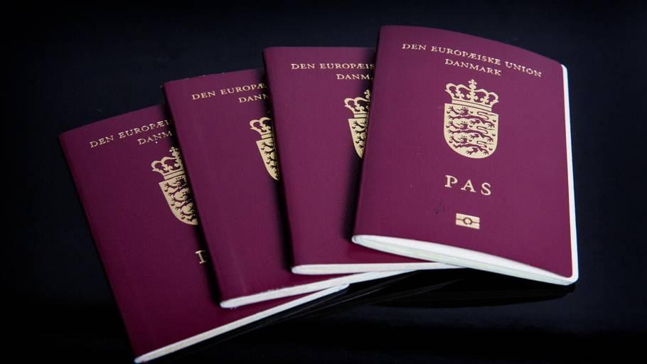 hvordan får man dansk pas