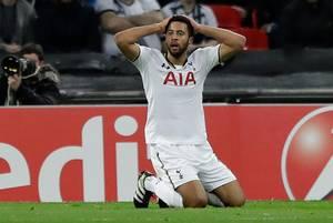 Tottenham er færdige i Europa League efter 2-2 mod Genk på et fyldt Wembley i London. Foto: AP
