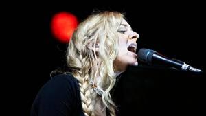 Agnes Obel ses her på Skanderborg Festival i 2013. Foto: Rasmus Baaner