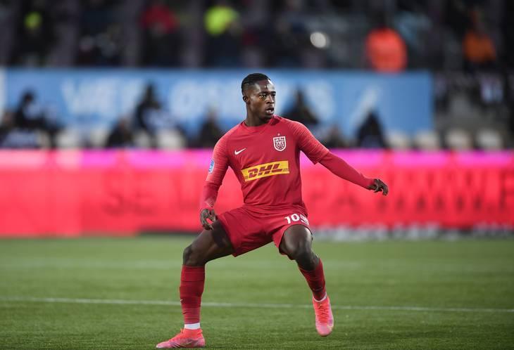 Kamaldeen Sulemana er blot 19 år, men har været sensationel for FC Nordsjælland. Foto: Lars Poulsen