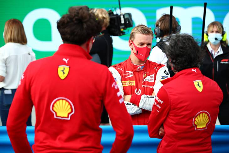 Der drømmes om at se Mick Schumacher i en Ferrari en dag. Foto: Foto: Joe Portlock/FIA Content Pool/Formula 1 via Getty Images