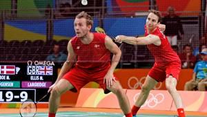 Carsten Mogensen og Mathias Boe var to af de spillere, der røg af landsholdet i 'småkage-krigen'. Foto: Jens Dresling