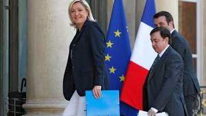 I et interview med tv-stationen BFM kalder Le Pens kampagneleder anklagerne 'et angreb på Jean-Francois Jalkhs ære'. Foto: AP