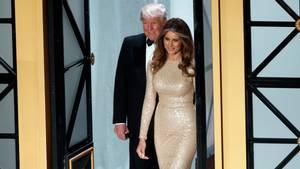 Selv om indsættelsen blot er en formalitet, så er Trump og konen nok en anelse nervøse. Læs herunder hvorfor. (Foto: AP)