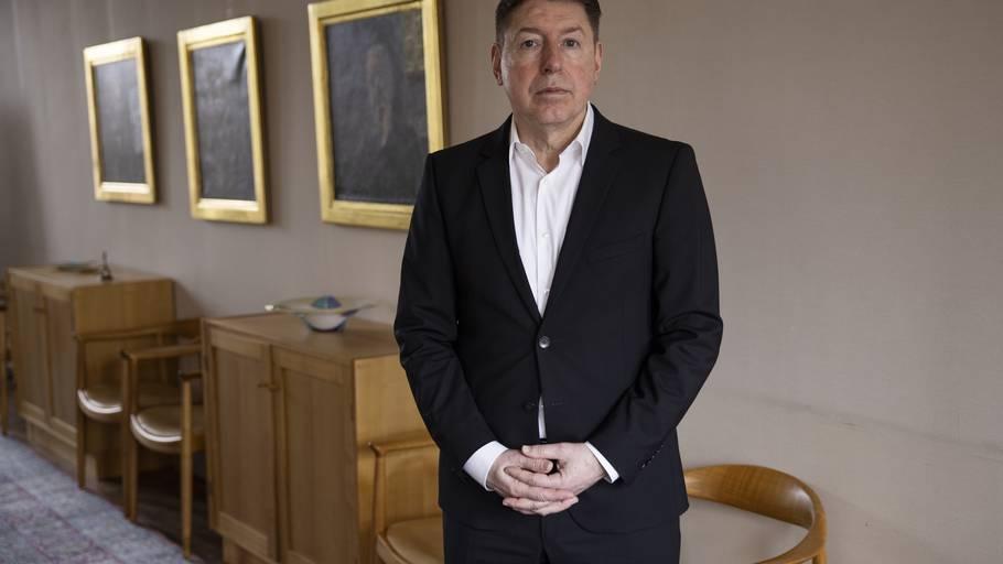 Koncernchef i FLSmidth Thomas Schulz har siddet i direktørstolen siden 2013. Han skal nu stå skoleret for investorer. Foto: Gregers Tycho
