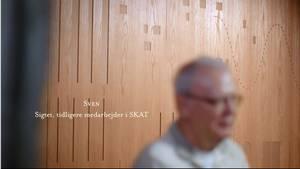 Østre Landsret har ophævet navneforbuddet mod den 68-årige bortviste medarbejder i Skat, Sven Jørgen Nielsen. Foto: Skærmdump fra DR-dokumentaren 'Milliardkuppet'.