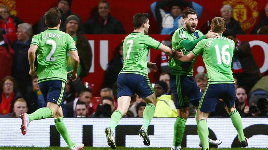 Jubel i Southampton. (Foto: Rex Features/All Over Press)