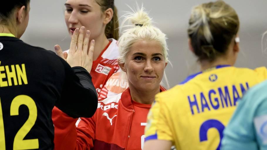 9a574a6c28d Kristina Kristiansen indleder i weekenden sit femte VM med det danske  landshold. Foto: René