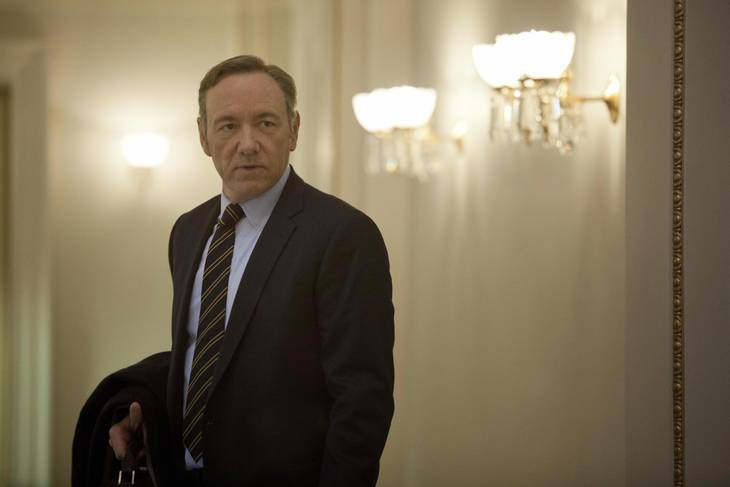 Kevin Spacey i rollen som Frank Underwood. Foto: All Over