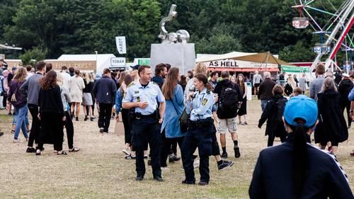 Tinderbox' sidste døgn forløb roligt, melder politiet. Foto: Per Lange