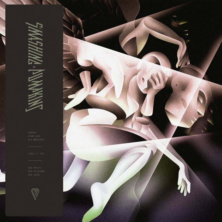 Coveret til The Smashing Pumpkins' aktuelle 'Shiny and Oh So Bright, Vol. 1 / LP: No Past. No Future. No Sun.'