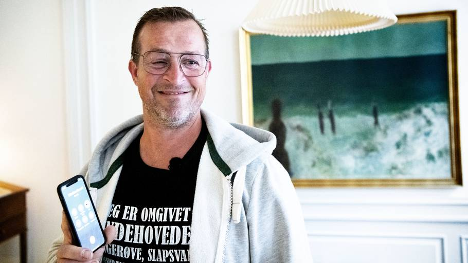 Her ses Herman Himle kort efter dommen. Foto: Nils Meilvang/Ritzau Scanpix