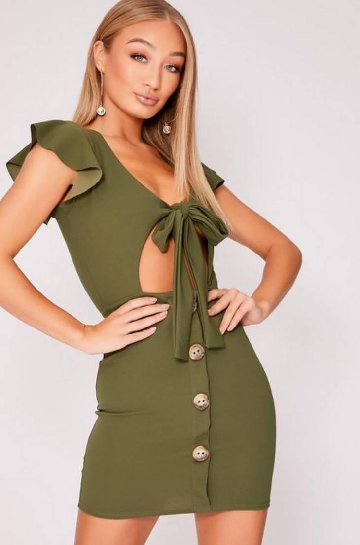 a3ea5e8bcfaa 23-årig bestilte ny grøn kjole på nettet: 'Christ, se mine ...