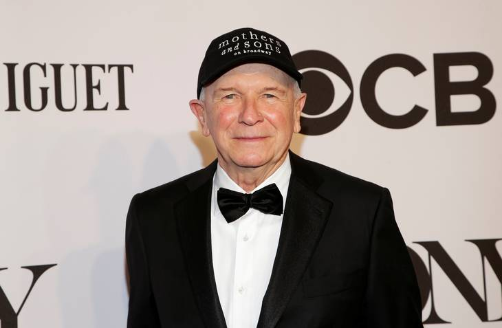 Terrence McNally til Tony Awards i 2014. Foto: Ritzau Scanpix