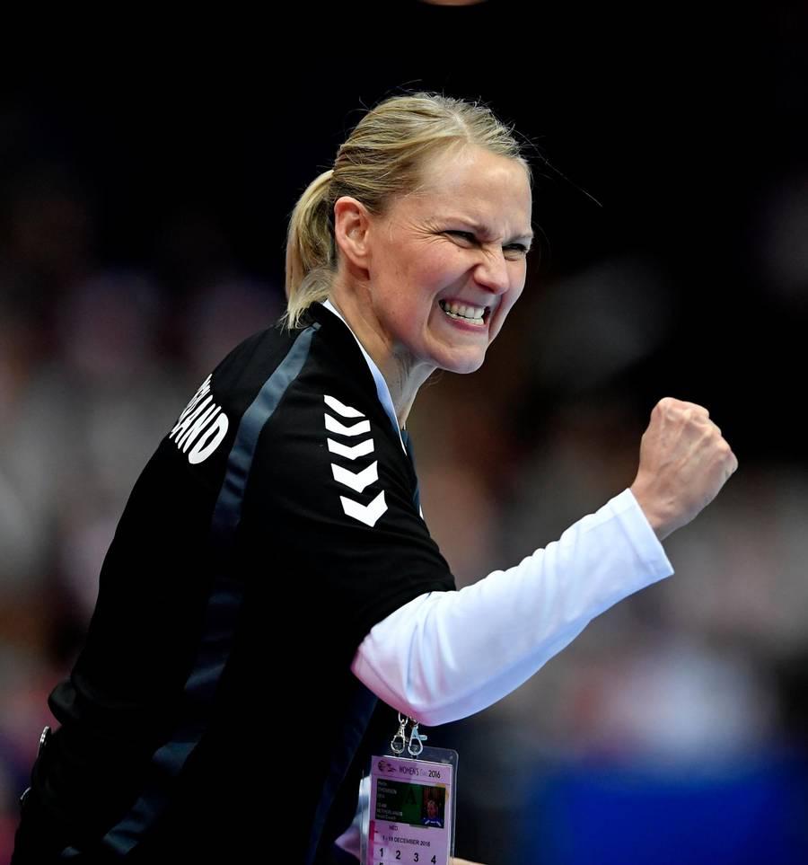 Helle Thomsen fortsætter som hollandsk landstræner. Foto: Lars Poulsen