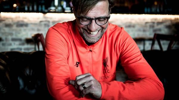 Jürgen Klopp har hentet Mohamed Salah fra Roma til Liverpool for 290 millioner kroner. Foto: Linda Johansen