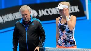 Den mentale del er den vigtigste i Carolines udvikling, mener hendes far og træner. Foto: AP
