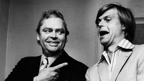 Dirch Passer (til venstre) og Ulf Pilgaard (til højre). Foto: POLFOTO