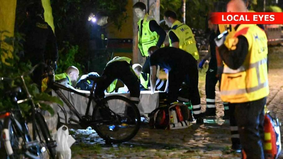 Den 22-årige blev skudt nær indgangen til Pusher Street. Foto: Local Eyes