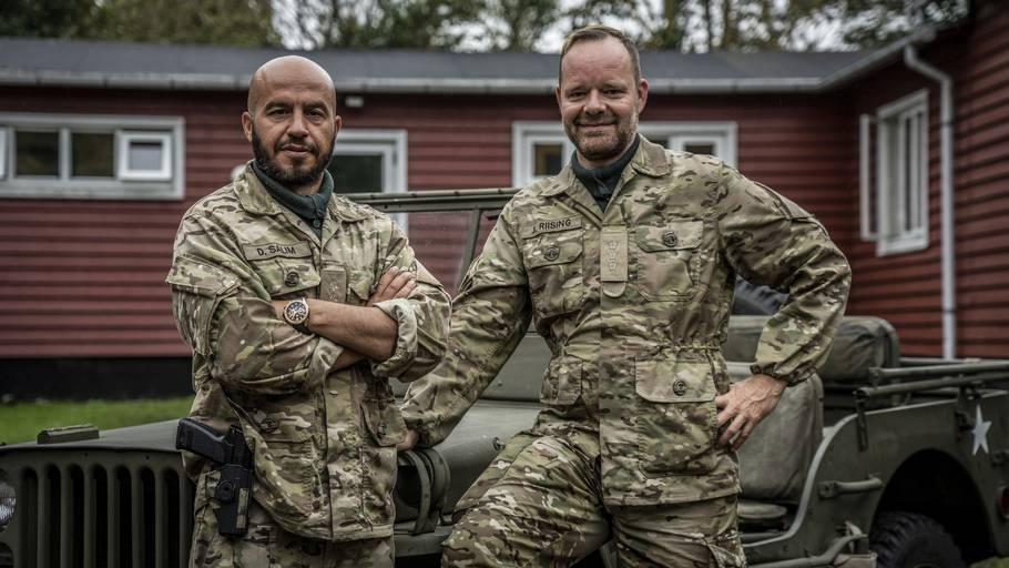 Dar Salim og Jacob Riising stod i spidsen for programmet seneste sæson. Hvorvidt de to bliver værter på sæson to, er endnu ikke afsløret. Foto: Discovery