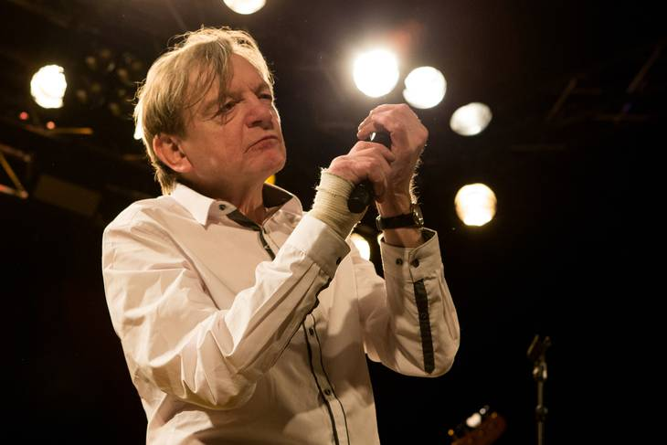 Mark E. Smith fra The Fall i Vulkan Arena i Oslo i 2016. Foto: Per-Otto Oppi