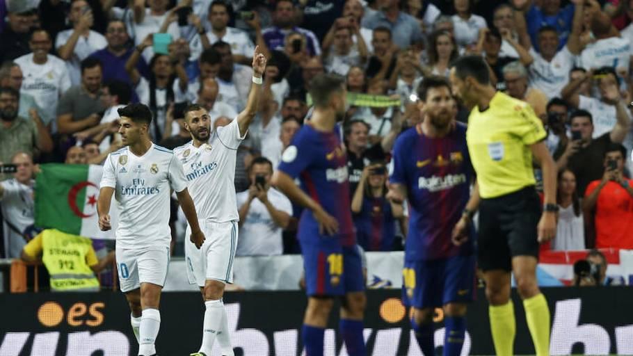 En jublende Benzema lukkede og slukkede ydmygelsen af rivalerne fra  Barcelona med kampens sidste scoring i 34ceaaa1dd96d