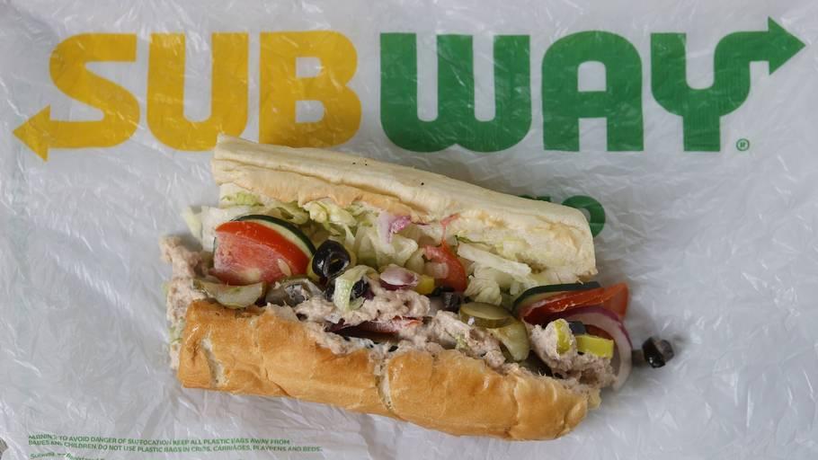 En ny undersøgelse fandt intet tunkød i Subways tunsandwich. Foto: Justin Sullivan/Ritzau Scanpix