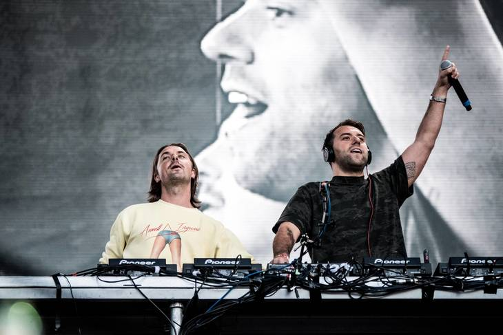 Axwell og Ingrosso fra Swedish House Mafia. Foto: All Over Press