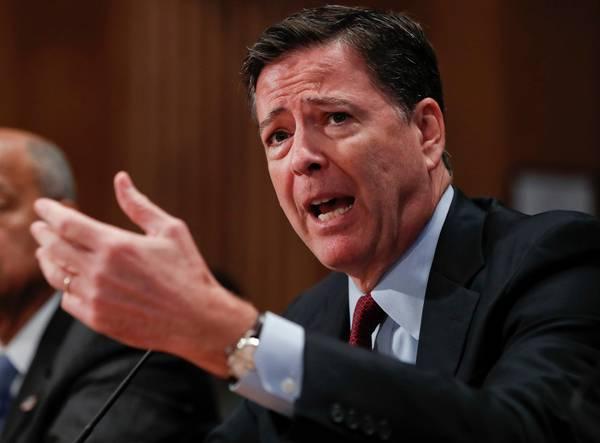 FBI's øverste chef Jim Comey. (Foto: AP)
