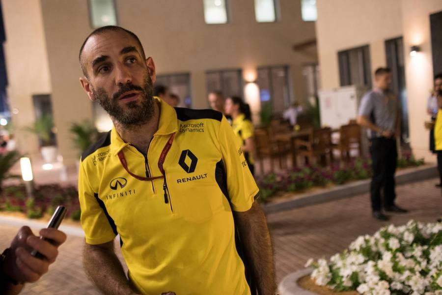 Cyril Abiteboul er skuffet over Kevin Magnussen, der ifølge franskmanden manglede disciplin. (Foto: Jan Sommer)