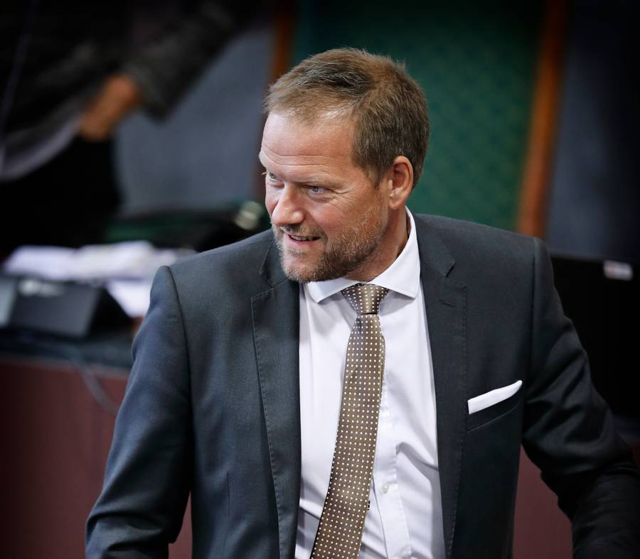 Ritt Bjerregaard opfordrer René Christensen til et samarbejde med Socialdemokratiet. Foto: /Ritzau/Jens Dresling