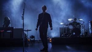 Forsanger Jonas Bjerre og resten af Mew-drengene afbrød søndag koncert i Göteborg. Foto: Henning Hjorth