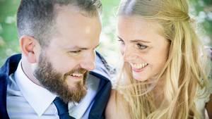 Nicolas og Camilla blev gift ved første blik. Foto: DR