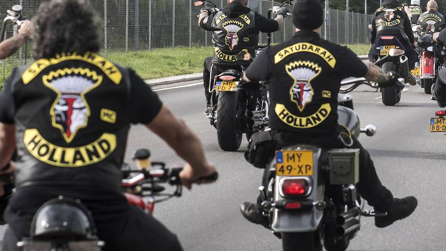 Rockerklubben Satudarah er grundlagt i Holland. Foto: Kenneth Meyer