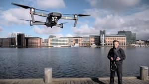 Tænk dig godt om inden du sender dronen i luften - både for din egen og andres skyld. Foto: Jakob Jørgensen