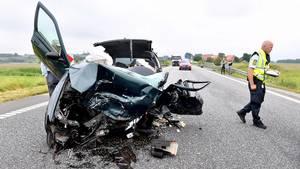 Den afdøde 76-åriges køretøj. Foto: René Schütze